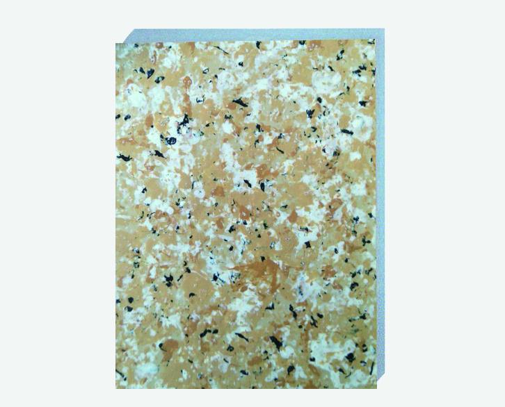 丁香米黄仿大理石挤塑板复合板保温装饰一体板