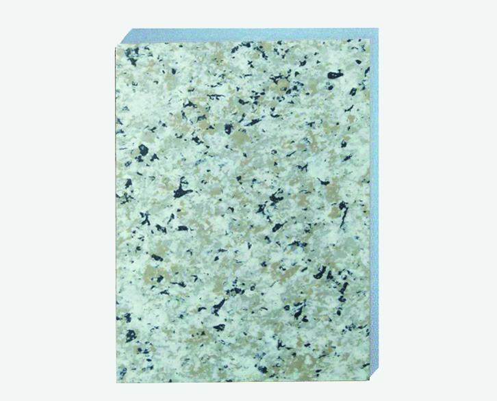 珍珠白仿大理石挤塑板复合板保温装饰一体板