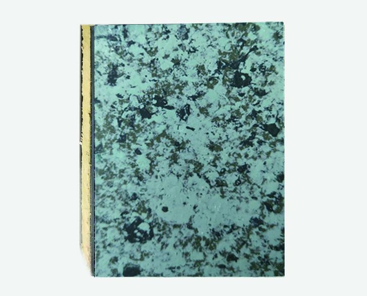翠绿白仿大理石岩棉复合板