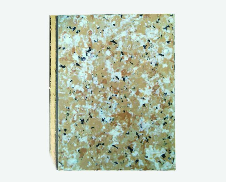 丁香米黄仿大理石岩棉复合板
