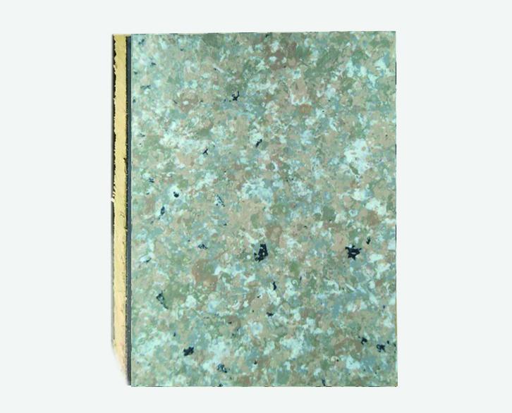 丁香紫仿大理石岩棉复合板