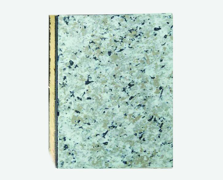 珍珠白仿大理石岩棉复合板